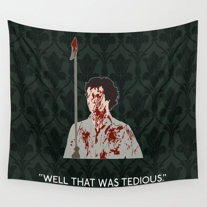 The Hounds of Baskerville - Sherlock Holmes Wall Tapestry