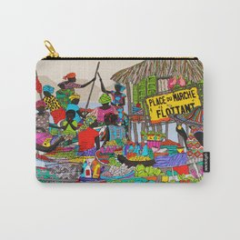My Floating  market Carry-All Pouch