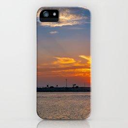 Sunset Over Balboa Peninsula iPhone Case