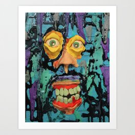 mindblowing Art Print