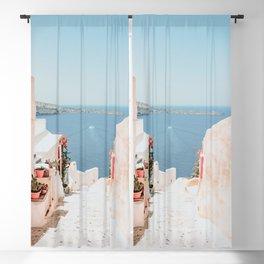 Santorini Oia Blackout Curtain