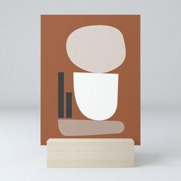 Shape study #11 - Stackable Collection Mini Art Print
