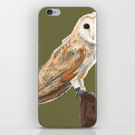 Animals endangered by HS2 (#stophs2) iPhone Skin