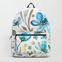 flower watercolor 5 Backpack