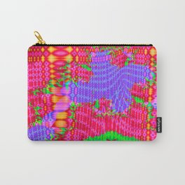 Funky colors and patterns Carry-All Pouch