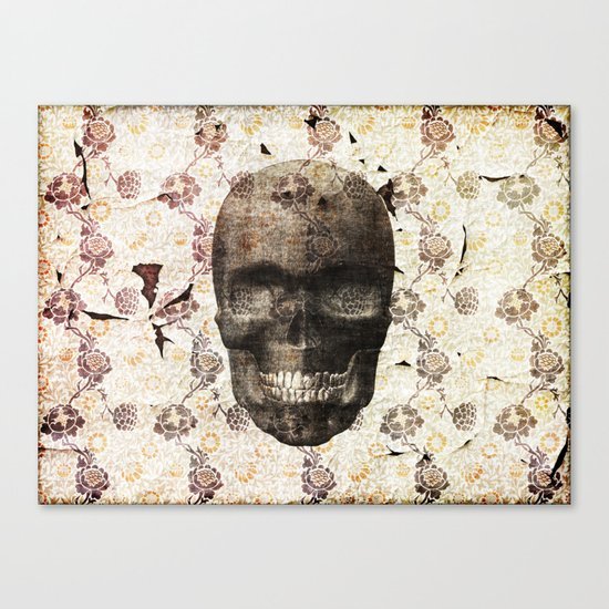 This Place is Death Canvas Print