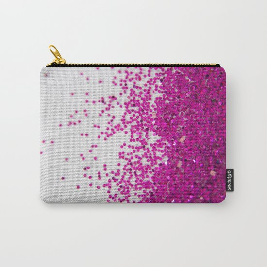 Fun I (NOT REAL GLITTER) Carry-All Pouch