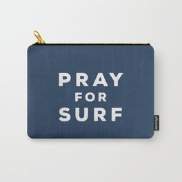 Pray For Surf - Indigo Edition Carry-All Pouch