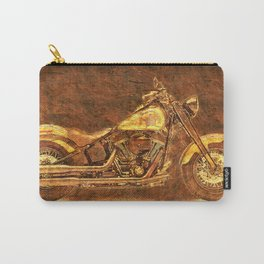 2016 HARLEY Original artwork on stone Carry-All Pouch