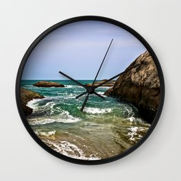 Sri Lankan Beach Wall Clock