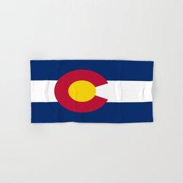 flag colorado,america,usa,south,desert, The Centennial State,Coloradan,Coloradoan,Denver,Springs Hand & Bath Towel
