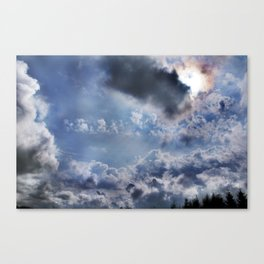 Swell sky Canvas Print