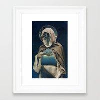 sailor Framed Art Prints featuring SAILOR by Julia Lillard Art