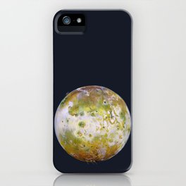 Portrait of Io (with plume) iPhone Case