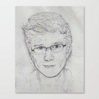 tyler oakley Canvas Prints featuring Tyler Oakley by EleanorOrchard