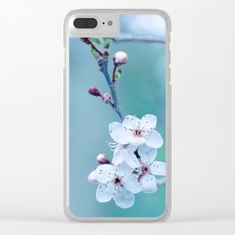 hope springs eternally green Clear iPhone Case