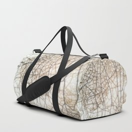 Raku crackles Duffle Bag