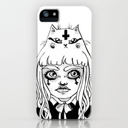 Gothikitty iPhone Case