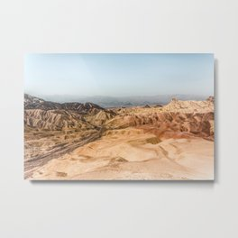 Desert Landscape Metal Print
