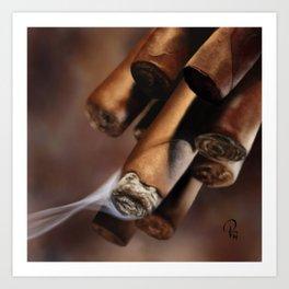 Cubans Art Print