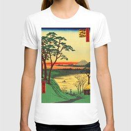 Japanese Tea House on River T-shirt