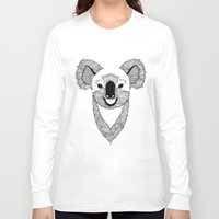 koala Long Sleeve T-shirts featuring Koala by Art & Be