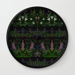 The Poison Garden - Gallimaufrey Wall Clock