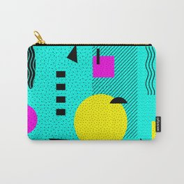Hello Memphis Lemon Splash Carry-All Pouch