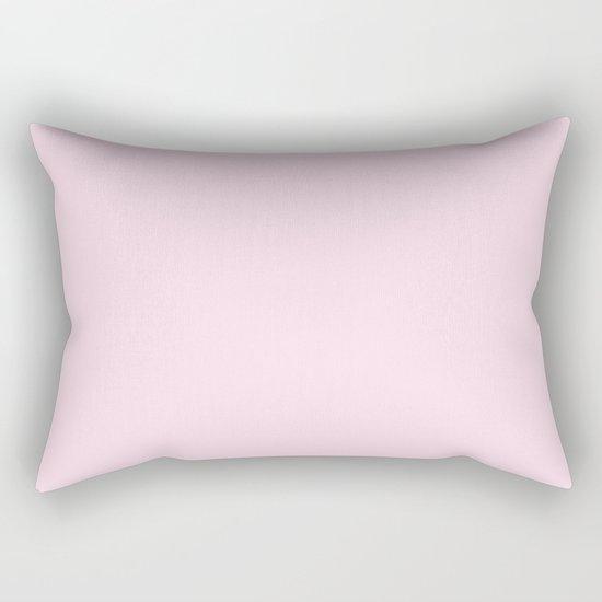 Simply pink color - Mix and Match with Simplicity of Life Rectangular Pillow