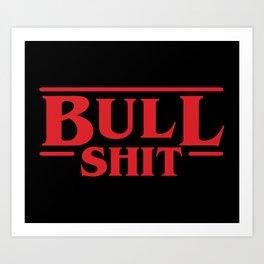 Strange Bull Art Print