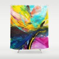 splash Shower Curtains featuring Splash by zAcheR-fineT
