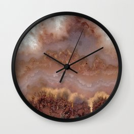 Idaho Gem Stone 14 Wall Clock