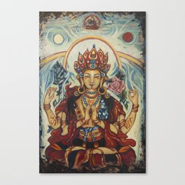 Chenrezig  Canvas Print