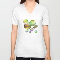 the lights V-neck T-shirts featuring Lights by Tony Vazquez