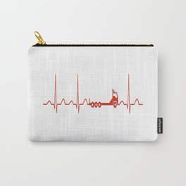 TRUCK HEARTBEAT Carry-All Pouch