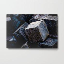 As Hard As Granite Metal Print