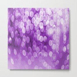 Bokeh Light Purple Tone #decor #society6 #buyart Metal Print