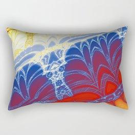 Fractal Arches Rectangular Pillow
