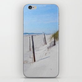 Van Gogh's Beach iPhone Skin