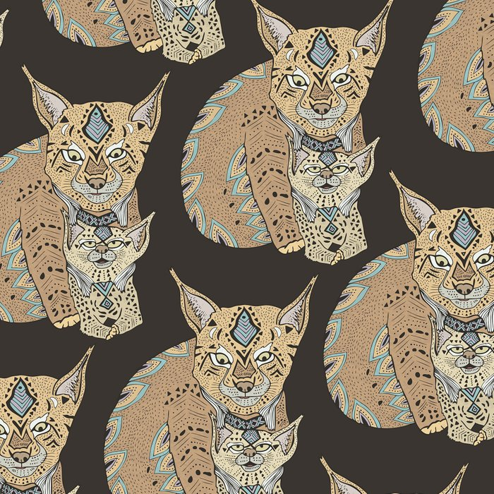 Wild Cats Love II Leggings