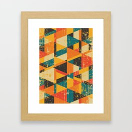 A Million Little Pieces Framed Art Print