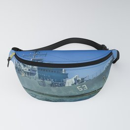 Army Ship in Caribbean Sea, Cartagena - Colombia Fanny Pack