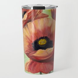 Poppies I Travel Mug