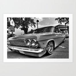 Cruisin' Lowrider Impala Classic Art Print