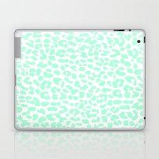 Pale Mint Leopard Laptop & iPad Skin