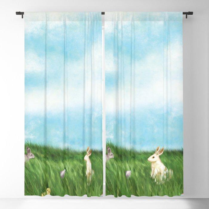 Easter Prairie 1a Blackout Curtain