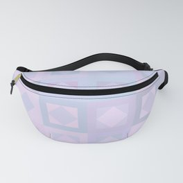 Pastel Squares Fanny Pack
