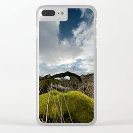 Nature is Life Clear iPhone Case