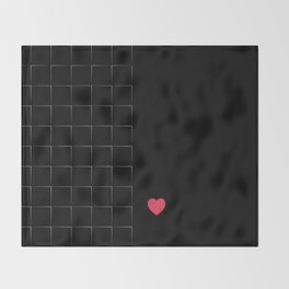 23 E=BlackLove Throw Blanket