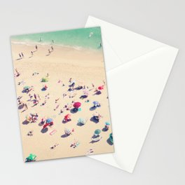 beach summer in love Stationery Cards